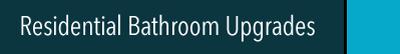 Swift Bathrooms residential bathroom upgrades header